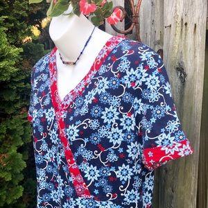 Hanna Andersson comfy floral cotton dress